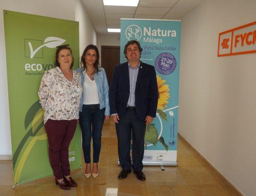 Ecovalia y Natura Málaga se unen para promocionar el valor de la producción ecológica
